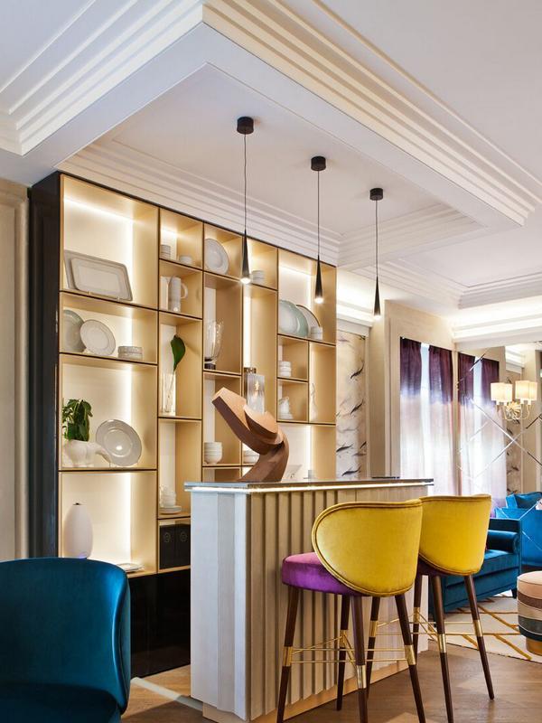 Modern - коллекция лепного декора из полиуретана в современном стиле