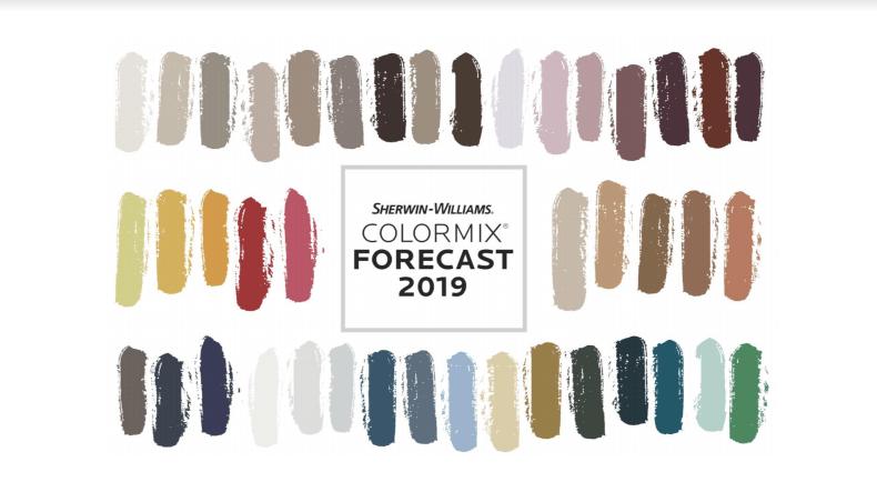 Прогноз цветовых трендов 2019 от Sherwin-Williams
