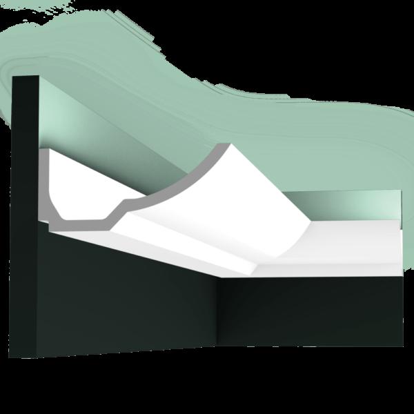 C351 Профиль для скрытого освещения Boat