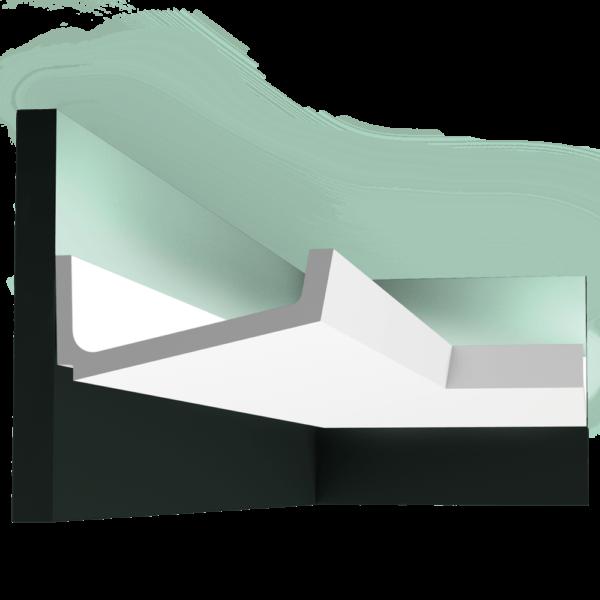 C352 Профиль для скрытого освещения Flat