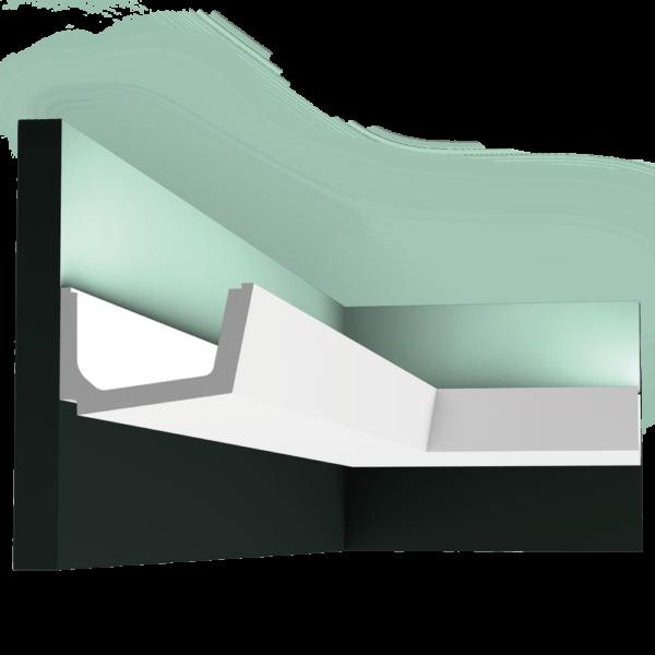 C357 Профиль для скрытого освещения Straight