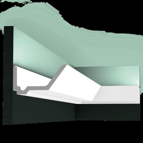C358 Профиль для скрытого освещения Rail