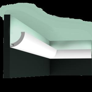 C362 Профиль для скрытого освещения Curve
