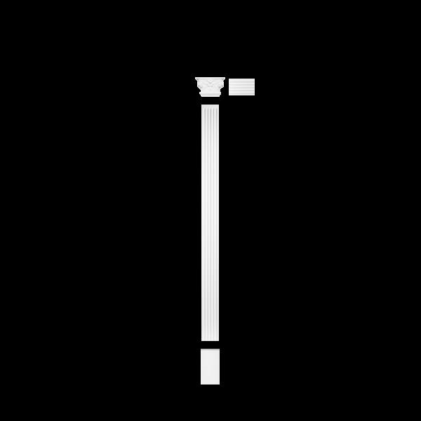 K201LR Капитель пилястры (левая и правая)