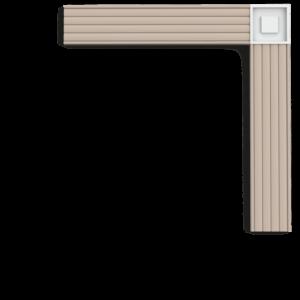 P5020B Угловой элемент